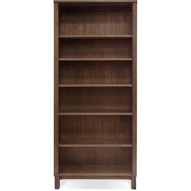 Jesper Office Highland 6-shelf Wood Bookcase