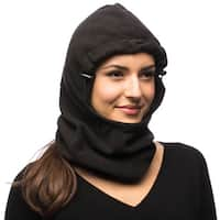 Raider Black Deluxe Fleece Hood