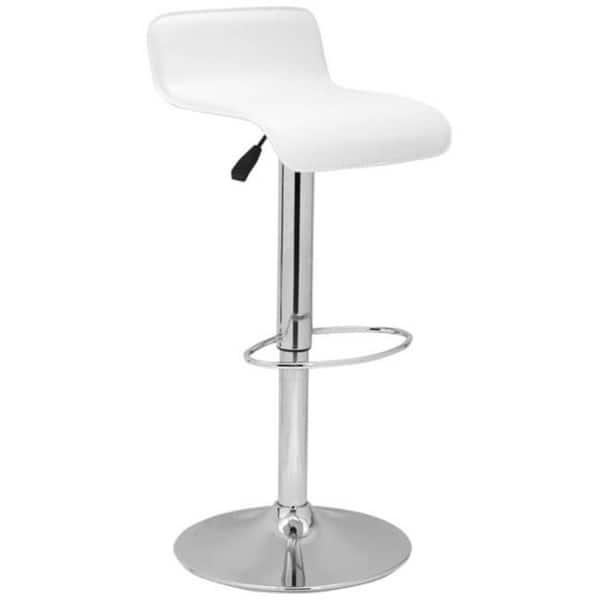 Strange Shop Safavieh Soho White Adjustable 20 5 30 Inch Swivel Bar Machost Co Dining Chair Design Ideas Machostcouk