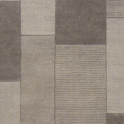 Hand-crafted Solid Casual Grey Bethune Wool Rug (9' x 12')