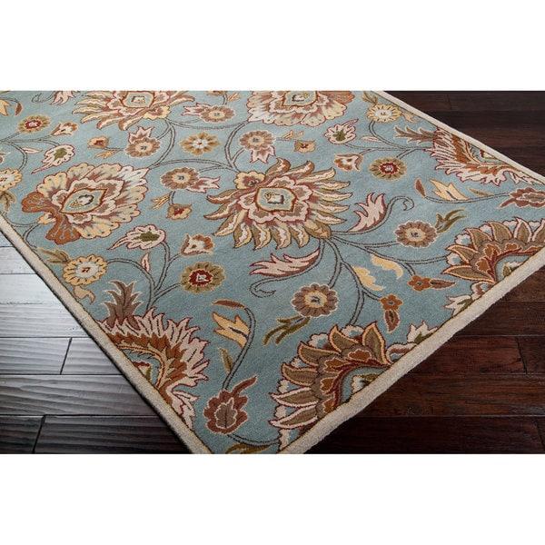 Hand-tufted Chapin Wool Rug (7'6 x 9'6)