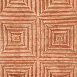 Hand-knotted Elko Geometric Wool Rug (5' x 8') - Thumbnail 2