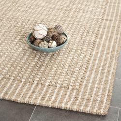 Safavieh Casual Natural Fiber Hand-Woven Loop Sisal Beige Rug (4' x 6')