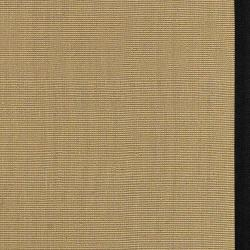Woven Town Sisal and Black Cotton Border Rug (5' x 7'9)