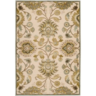 "Woven Lauren Ivory Viscose/Chenille Area Rug - 7'6"" x 10'6"""