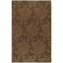 Hand Tufted Sophia Brown Wool Area Rug (3'6 x 5'6)