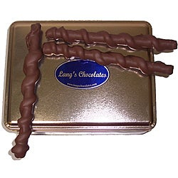 Lang's Chocolates 32-oz Milk Chocolate Caramel Pretzel Tin