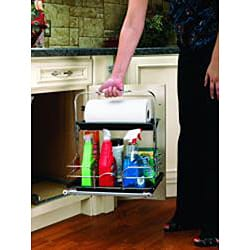 Rev-A-Shelf 544-10C-1 Chrome Cleaning Caddy