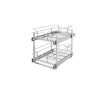 Rev-A-Shelf Medium 2-tier Chrome Baskets|https://ak1.ostkcdn.com/images/products/6458855/P14057122.jpg?impolicy=medium