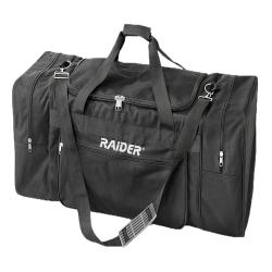 Raider Black Deluxe Power Sports Duffel Bag