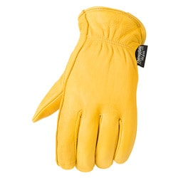 Raider Tan Insulated Premium Deerskin Gloves with Keystone Thumb