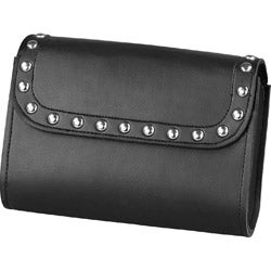 Raider Small Black Studded Motorcycle Windshield Bag
