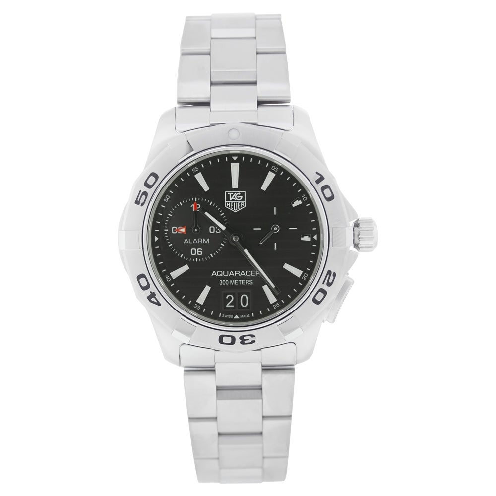 Tag Heuer Men's WAP111Z.BA0831 Aquaracer Stainless Steel Watch