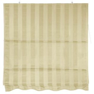 Striped Roman Shade (72 in. x 72 in.)(China)