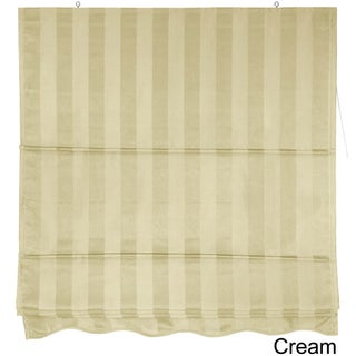 Handmade Striped Roman Shade (48 in. x 72 in.)(China) (2 options available)