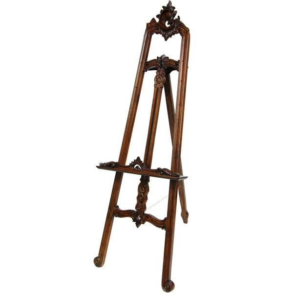 Wood Baroque Painter's Easel (China)