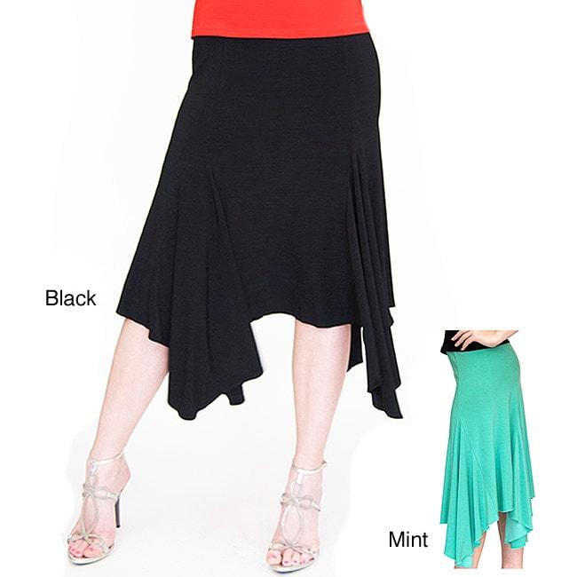 Shining Star Handkerchief Hem Skirt