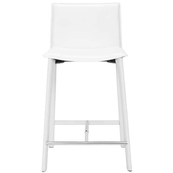Surprising Shop Safavieh Mid Century 24 6 Inch Madison Ave White Lamtechconsult Wood Chair Design Ideas Lamtechconsultcom