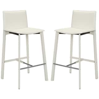 Leather Bar Height 29 32 In Counter Amp Bar Stools For