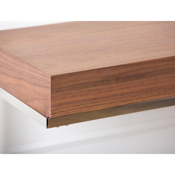 Abbyson Verona Walnut Sofa Table   Free Shipping Today   Overstock.com    14057502