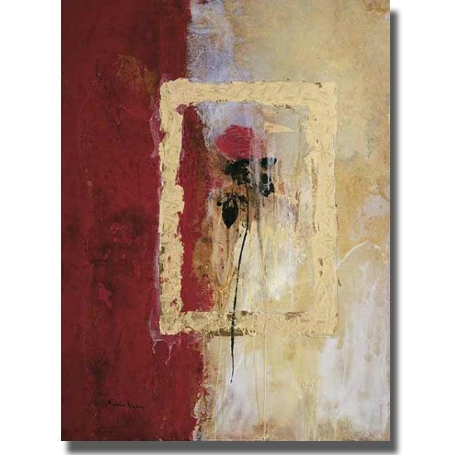 Miquela Nicolau 'L'Efimer' Canvas Art