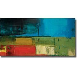 Peter Colbert 'Segments' Canvas Art
