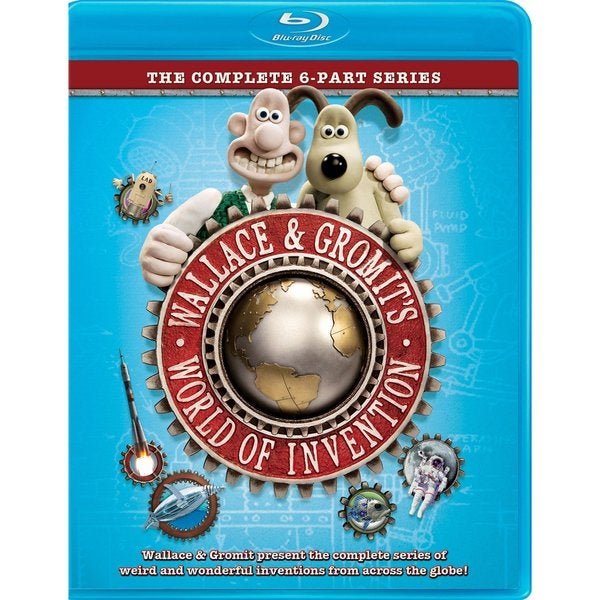 Wallace & Gromit's World Of Invention (Blu-ray Disc)