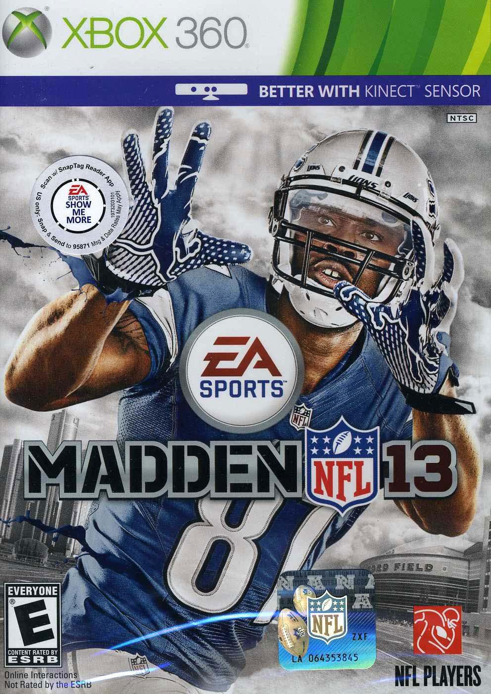 X360 - Madden NFL 13
