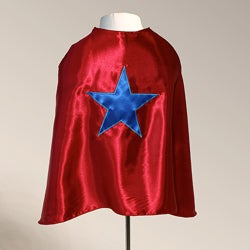 Power Capes Red and Blue Star Superhero Cape
