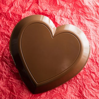 Lang's Chocolates 3-pound Solid Milk Chocolate Valentines Day Heart