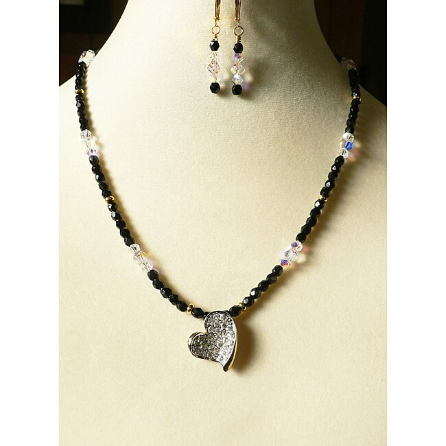 'Heart of my Heart' Necklace and Earring Set (USA)
