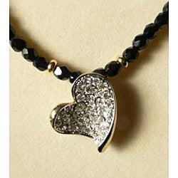 'Heart of my Heart' Necklace and Earring Set (USA) - Thumbnail 1