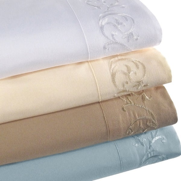Symphony Microfiber 4-piece Full-size Sheet Set