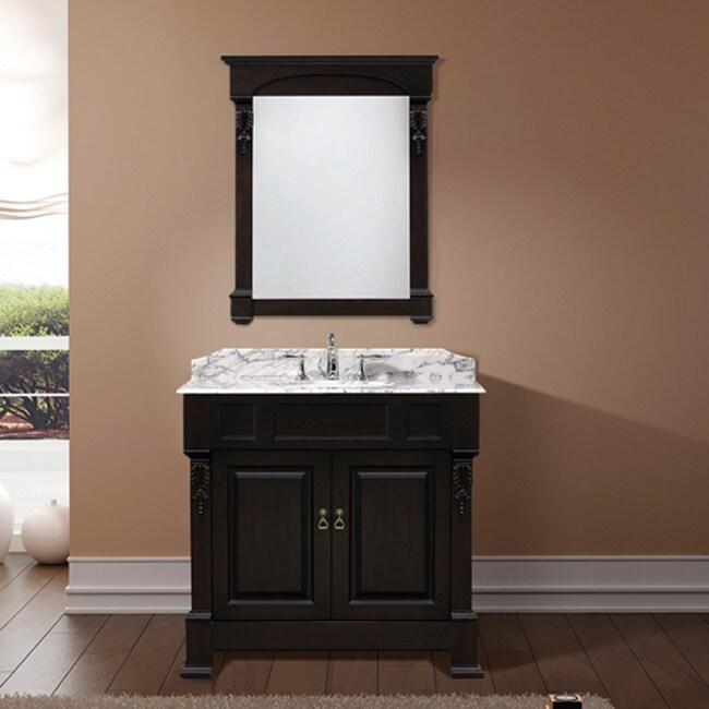Virtu USA Huntshire 36-inch Single Sink Bathroom Vanity Set
