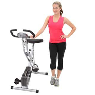 Exerpeutic 1200 Folding Pulse Monitor Magnetic Upright Bike|https://ak1.ostkcdn.com/images/products/6460917/P14058617.jpg?impolicy=medium
