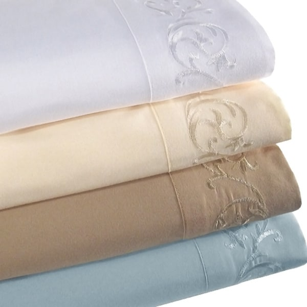 symphony microfiber 4piece kingsize calkingsize sheet set - Cal King Sheets