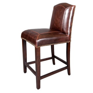 Monroe Leather Counter Stool