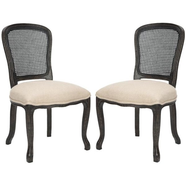 Safavieh Old World Dining Bordeaux Grey Side Chairs (Set of 2)