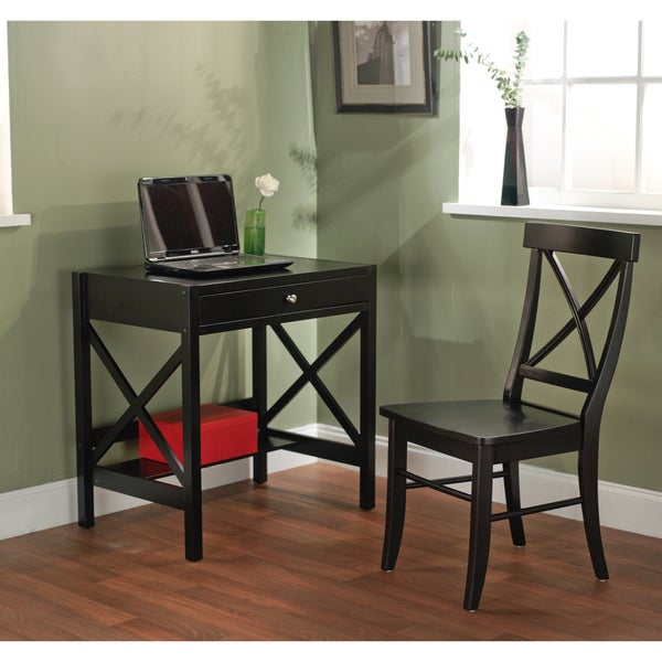 Simple Living 2pc X-Desk Set - Free Shipping Today - Overstock.com