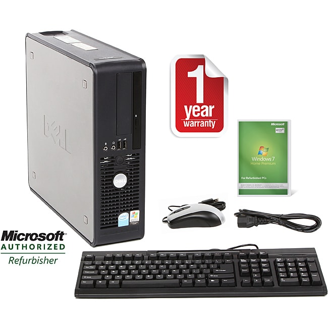 Dell Optiplex 755 Intel Core 2 Duo 3.0GHz CPU 2GB RAM 160GB HDD Windows 10 Home Small Form Factor Co