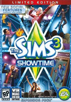 PC - The Sims 3 Showtime