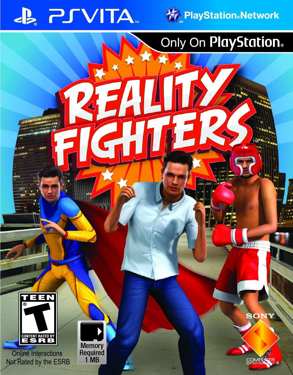 PS Vita -  Reality Fighters