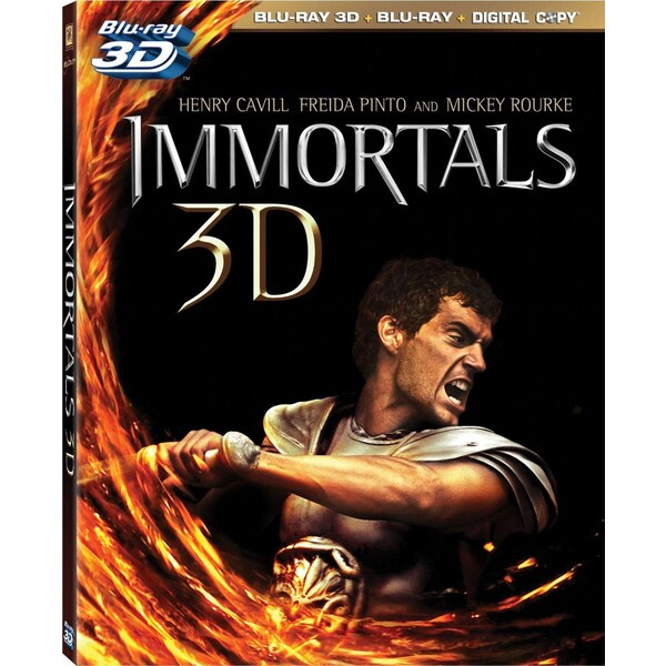 Immortals 3D (Blu-ray Disc)