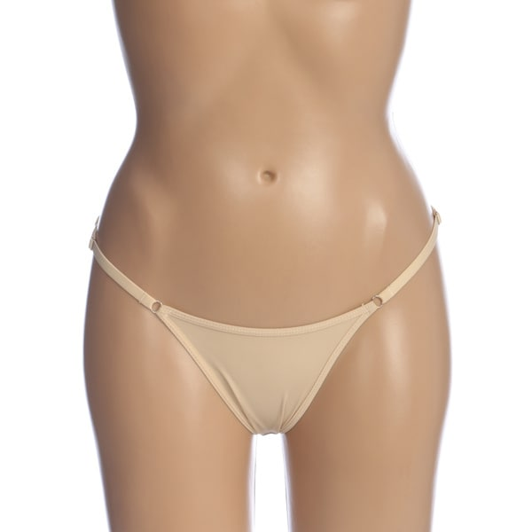 Magic Curves Women's Nude Low Rise Brief Booster