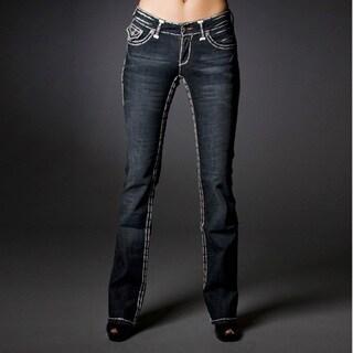 Laguna Beach Jeans Women's 'Capistrano Beach' Double Stitch Boot Cut Denim Jeans