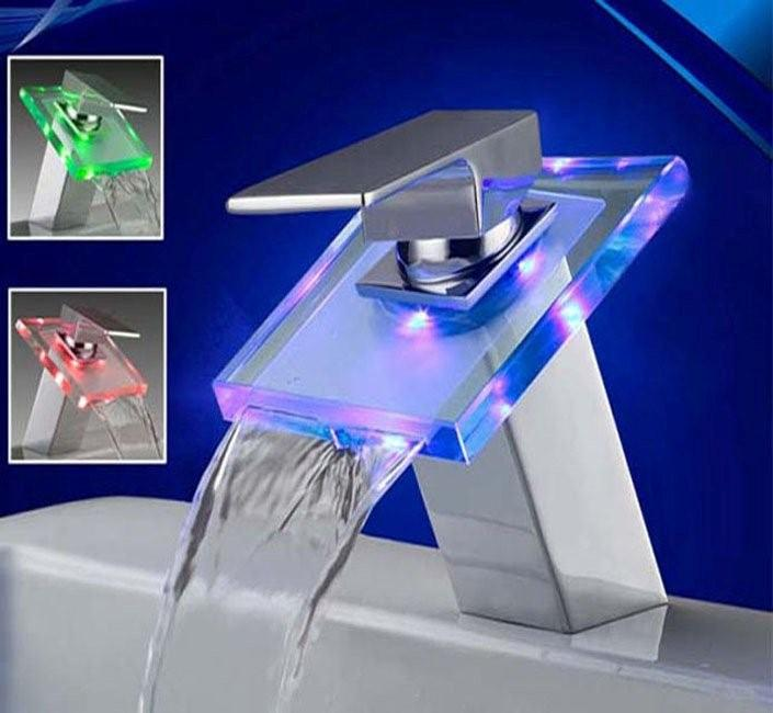 Sumerain LED Bathroom Sink Faucet