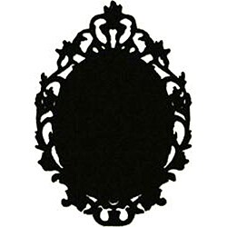 Instant Chalkboard Victorian Picture Frame Sticker - Thumbnail 1