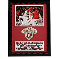 St. Louis Cardinals 2011 World Series Champions Patch Frame - Thumbnail 0