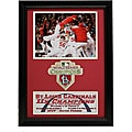 St. Louis Cardinals 2011 World Series Champions Patch Frame