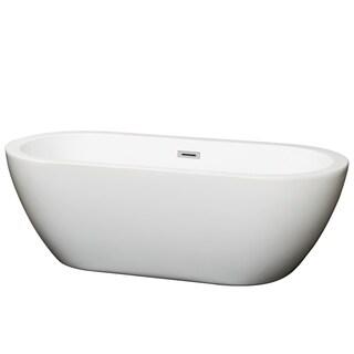 Wyndham Collection Soho Freestanding Soaking Bathtub (4 options available)